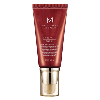 BB Cream Missha 50ml - N° 21 (Light Beige)