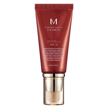 BB Cream Missha 50ml - N° 31 (Golden Beige)